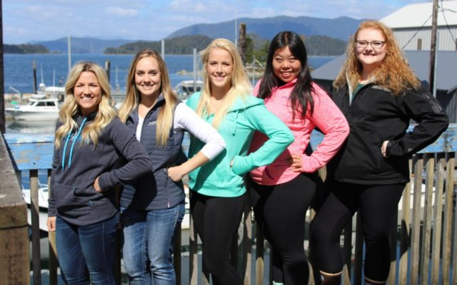 sitka alaska fishing hostesses