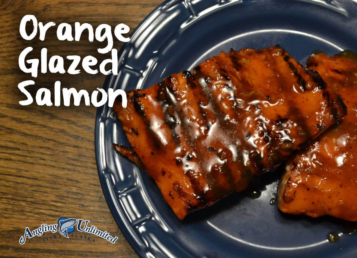 Orange Glazed Salmon 2