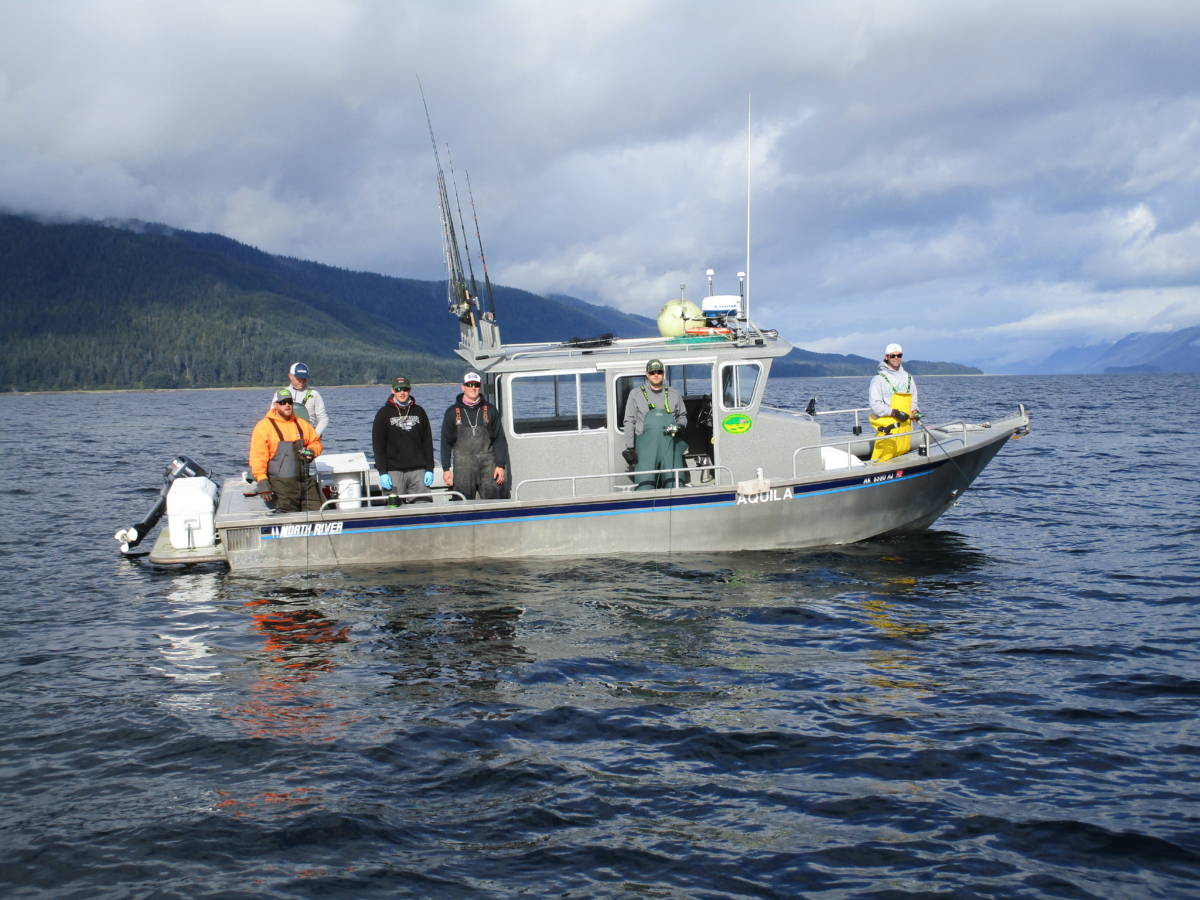 The morning meeting angling unlimited for Sitka alaska fishing