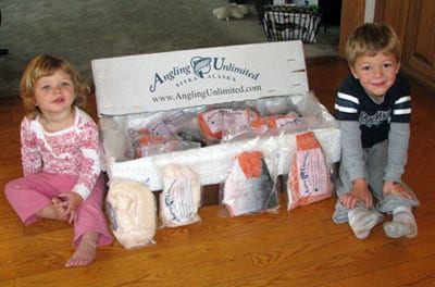 Vacuum-packed Alaskan fish from Angling Unlimited